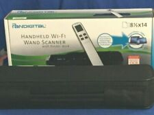 Pandigital Handheld Wi-fi Wand Scanner S8x1103 With Feeder Dock Leopard