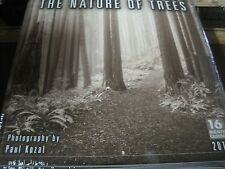 NATURE OF TREES PAUL KOZAL  2018 WALL CALENDAR 16 MONTH 12 PHOTOS SHRINK WRAPPED