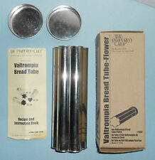 Pampered Chef Valtrompia Bread Tube - Flower #1550 With Recipe And Box
