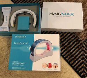 HairMax LaserBand 41 Unisex Hair Growth Device Used