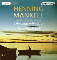 Henning Mankell - Die schwedischen Gummistiefel MP3 CD NEU Hörbuch Axel Milberg