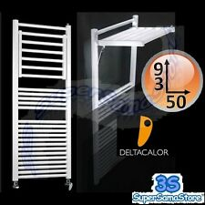 3S SCALDASALVIETTE TERMOARREDO DINAMIC DELTACALOR 93 x 50 cm BIANCO STENDI PANNI