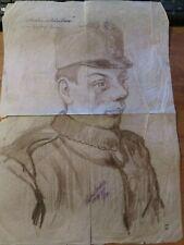 More details for 1915 first world war/great war original drawing/draft