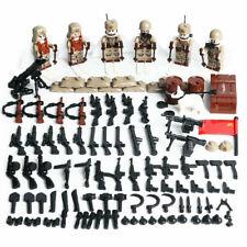 Minifigures WW2 Soviet Red Army Russia, Military, LEGO® compatible, mini Blocks