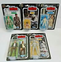 Hasbro Star Wars The Black Series (6 inch Scale) Lot of 5 Figures 40th Anniv