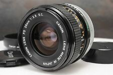:Canon FD 28mm F2.8 S.C. Manual Focus Prime Lens w BW-55-B Hood