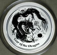 Australia 2012 Year Of The Dragon 1/2 Ounce Silver Coin - Lunar Series