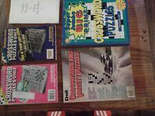 5 Crossword Puzzle Books