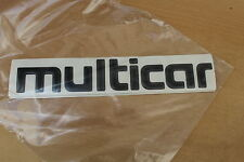 Multicar Schriftzug dicke Buchstaben für Fahrerhaus IFA Fortschritt DDR *NEU*