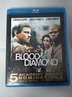 Blood Diamond (Blu-ray Disc, 2007) Free Shipping !