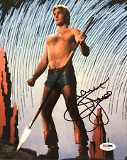 "Sam J Jones 11x17 Signed Photo Flash Gordon Autograph COA /""G/"""