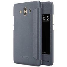 Funda Flip dorada Nillkin modelo Sparkle para Huawei Nova Plus Case