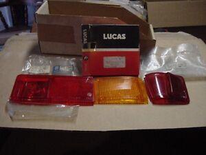 3 NOS RH Tail Lamp Lenses Austin Marina Vega + Lucas