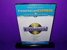 Prentice Hall Presentation Express Science Explorer Cd Rom Brand New B510