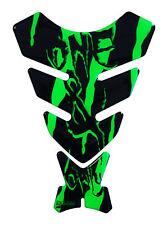Revêtement de réservoir 3d Monster Fluo Vert 501780 Universel Approprié Moto Tankschutz