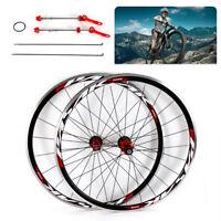 700C Ultralight Road Bicycle Wheel Front Rear Wheel Wheelset Rim Brake C/V PASAK