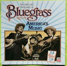 $4 2-CD SET~ Time-Life Treasury of BLUEGRASS ~BILL MONROE, FLATT & SCRUGGS+ ~VGd