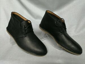 Clarks Originals Mens ** RARE DESERT BOOTS ** BLACK  KILDA PARK  ** UK 6,7 G