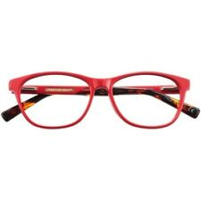 Womens Christian Siriano Marisa Red Eyeglass Frames NWT 53-15-140  $88 Retail