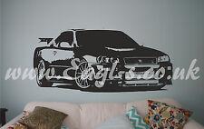 Nissan Skyline Drift car Wall Art