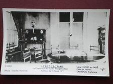POSTCARD RP FRANCE LE SIEGE DE PARIS - CHATEAU DE BELLEVUE 1871