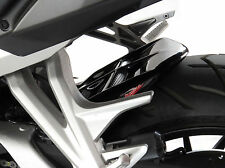 Honda VFR800F 14-18 Rear Hugger Gloss Black Silver Mesh - Powerbronze
