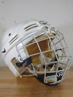 Nike Hockey Helmet HH0004 Large JR White 7 3/8-7 7/8