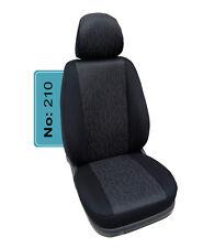 VW T5 /& T6 TRANSPORTER CARAVELLE Maß Schonbezüge Sitzbezüge 1+1 Kunstleder D101