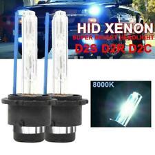 2x D2S D2R D2C Xenon HID Headlight Bulbs High Low Beam 8000K F8C1