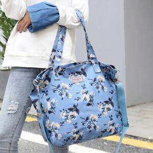 Casual Large Handbag Tote Flower Messenger Printing Shoulder Beach Bag BS