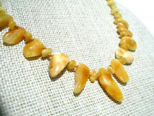 LOVELY LADIES NATURAL BALTIC AMBER NECKLACE