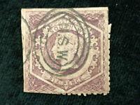 Australien (Britische Kolonien) Neusüdwales 1854/1872 - Königin Viktoria  6 P.
