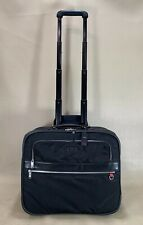 "Used Tumi Voyageur Berlin 17"" Wheeled Carry On Business Laptop Briefcase 48711D"