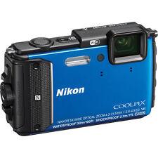Blue Waterproof Digital Cameras