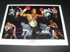 Nigel Benn The Dark Destroyer British Boxing Legend signed photo COA EPS AFTAL