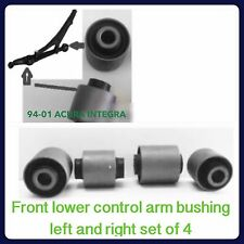 4 PIECES OF FRONT LOWER CONTROL ARM BUSHING  FOR  ACURA INTEGRA (1994-2001) NEW