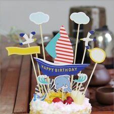 Cake Topper  Boat Sea Theme