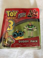 TOY STORY 3 DUDDY PACK BUZZ & LENNY DISNEY FIGURES RARE UNIQUE COLLECTIBLE NEW