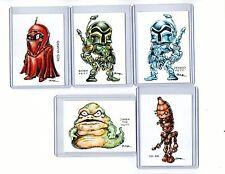 Star Wars #3 Movie (5 Cards) Art Prints Boba Fett Jengo Fett Jabba Ig-88 Rak