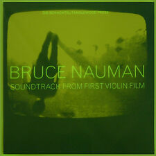 Bruce Nauman-Soundtrack From First Violin Film (LP artist record) HANDSIGNED
