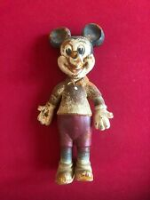 "1930's,Walt Disney, Large (16"") ""Mickey Mouse"" Foam Bendee Doll (RARE / Vintage)"