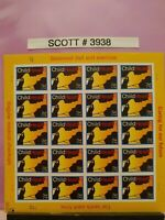 Scott # 3938 - Child Health-Caring for our Future - Sheet of (20) 37 Cent Stamps