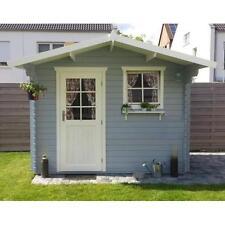 28 mm Gartenhaus Schweden 17 Holz Gerätehaus Blockhaus Schuppen Sonderpreis Neu