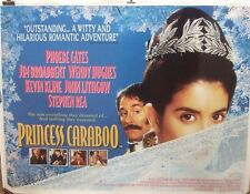 Phoebe Cates PRINCESS CARIBOU(1994) Original rolled UK quad movie poster