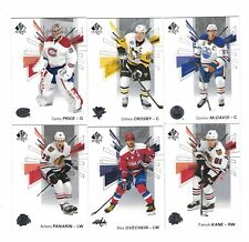 2016-17 SP AUTHENTIC HOCKEY COMPLETE 100 CARD BASE SET #1-100 NICE SET McDAVID++