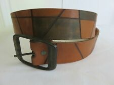 Discounted Vintage Jaw Leather Tooled Belt