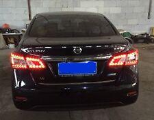 for Nissan Sentra 2013 2014 2015 LED Tail Lamp Red Light taillights brake lights