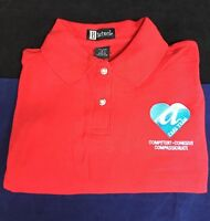 AIRTRAN AIRLINES CARE TEAM RED POLO LARGE