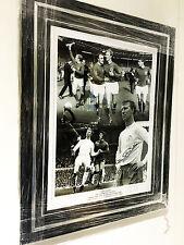 FRAMED JACK CHARLTON SIGNED PHOTO COA AUTOGRAPH LEEDS UNITED UTD ENGLAND 1966  2