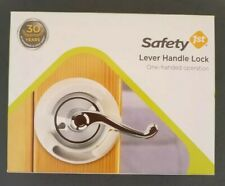 Safety 1st Lever Handle Lock #48400 (One Hand Operation) New In Box